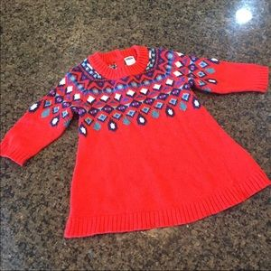 Cute Red Old Navy Sweater Dress